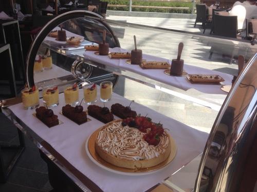 Pranzo all'Hotel Guarda Golf, Crans-Montana @oltreilbalcone